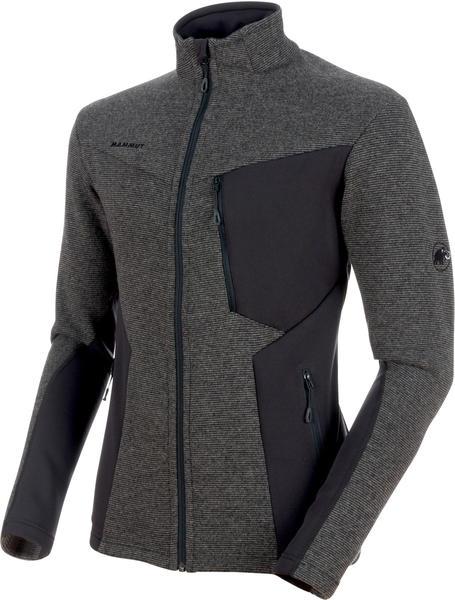 Mammut Stoney Wool Midlayer Jacket Men (2018) phantom titanium melange