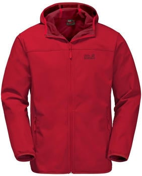 Jack Wolfskin Northern Point Men ruby red