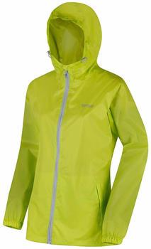 Regatta Pack It III Women´s Waterproof Jacket Lime Zest
