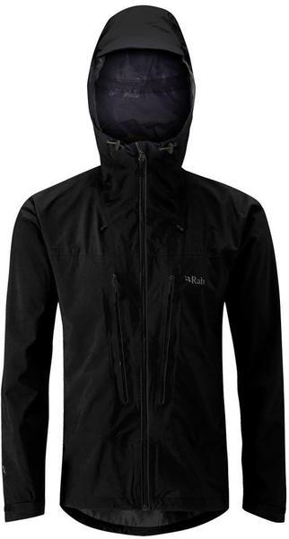 Rab Spark Men's Hardshell Jacket Black