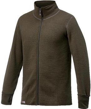 Woolpower Full Zip Jacket 600 pine green