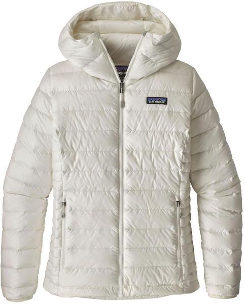 Patagonia Women's Down Sweater Hoody birch white
