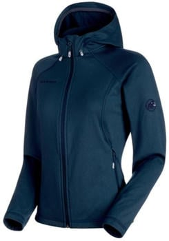 Mammut Runbold ML Hooded Jacket Women marine/dark melange