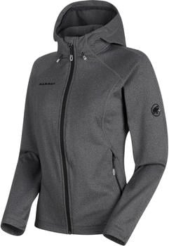 Mammut Runbold ML Hooded Jacket Women black melange