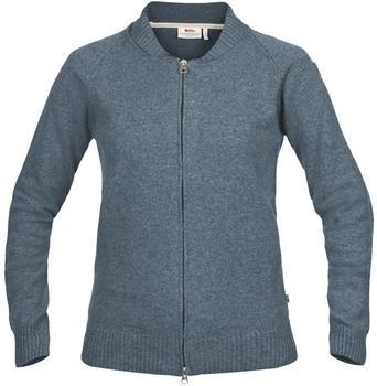 Fjällräven Övik Re-Wool Zip Jacket W (89808) dusk