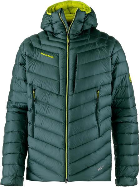 Mammut Broad Peak IN Hooded Jacket Men (1013-00260) dark teal-canary