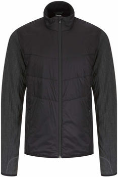 Icebreaker Merinoloft Descender Hybrid Jacket Men black/jet heather