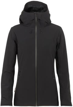 Icebreaker MerinoLOFT Stratus Transcend Hooded Jacket Women black/jet heather