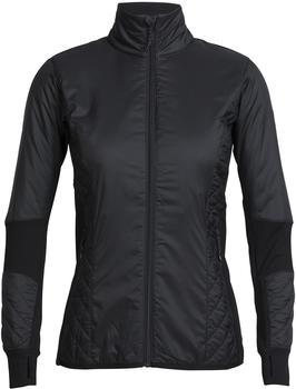 Icebreaker MerinoLOFT Helix Long Sleeve Zip Women black