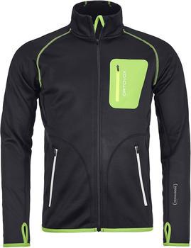 Ortovox Merino Fleece Jacket Men black raven/green
