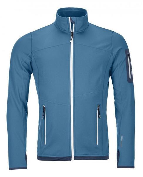Ortovox Fleece Light Jacket M blue sea
