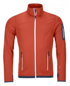 Ortovox Fleece Light Jacket M crazy orange