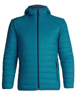 Icebreaker Merinoloft Hyperia Hooded Jacket Men alpine