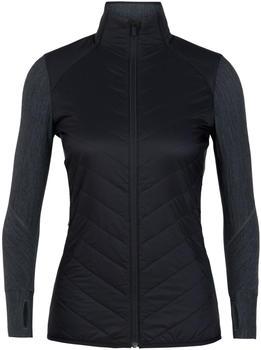Icebreaker MerinoLOFT Descender Hybrid Jacket Women black/jet heather