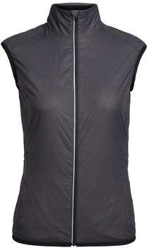 Icebreaker Cool-Lite Rush Vest Women black embossed