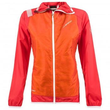La Sportiva Task Hybrid Jacket Women pumpkin/garnet
