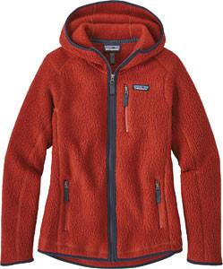 patagonia-retro-pile-fleece-hoody-women-red