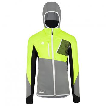 Hyphen Riffel Hybrid Jacket lime/grey