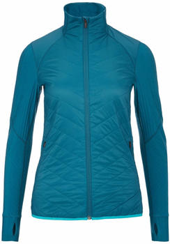Icebreaker MerinoLOFT Descender Hybrid Jacket Women kingfisher/artic teal