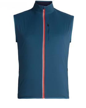 Icebreaker Tech Trainer Hybrid Vest Men prussian blue/midnight navy