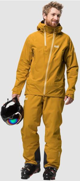 Jack Wolfskin Exolight Range Jacket Men (1109841-3015002) golden yellow