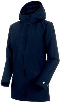 Mammut Chamuera Parka Hardshell Thermo Hooded Jacket Women (1010-26450) marine