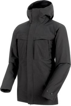 Mammut Chamuera Parka Hardshell Thermo Jacket Hooded Men (1010-26400) phantom