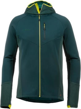 Mammut Aconcagua Pro Midlayer Jacket Hooded Men (1014-00310) dark teal-dark teal melange