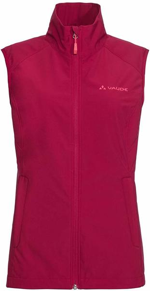 VAUDE Women´s Hurricane Vest III crimson red