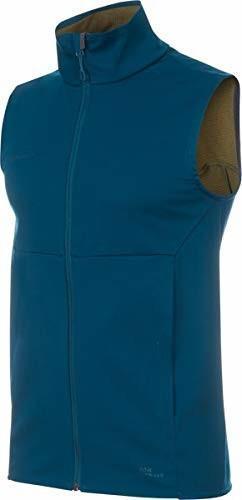 Mammut Ultimate V Softshell Vest Men (1011-00141) poseidon-olive melange