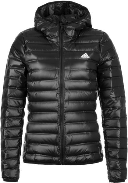 Adidas Varilite Down Hooded Jacket Women black