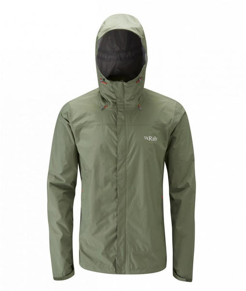 Rab Downpour Jacket Men Green
