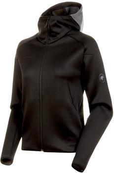 Mammut Logo Jacket Midlayer-Jacket Hooded Women (1014-00780) Black