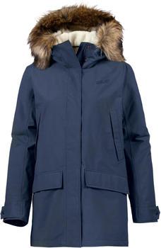 Jack Wolfskin Helsinki Jacket Women midnight blue