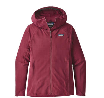 Patagonia Women's R1 TechFace Hoody arrow red