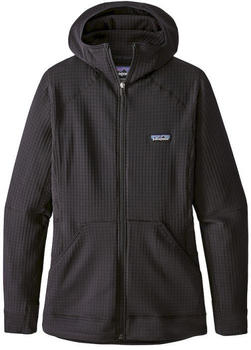 Patagonia Women´s R1 Fleece Full-Zip Hoody black