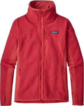 Patagonia Women's Performance Better Sweater Fleece Jacket static red