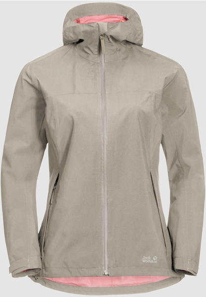 Jack Wolfskin JWP Shell W dusty grey