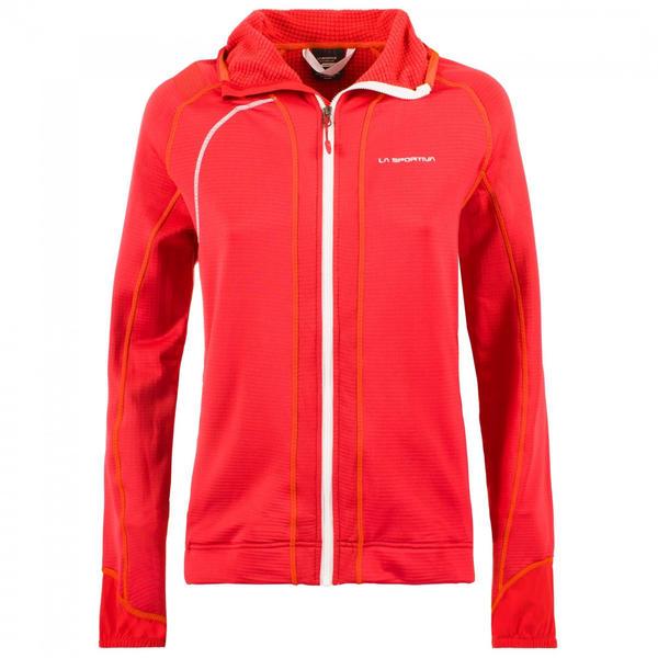 La Sportiva Kix Hoody Women Apparel Hiking garnet