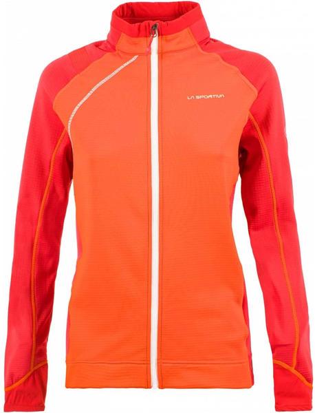 La Sportiva Sharki Jacket Women pumpkin/garnet