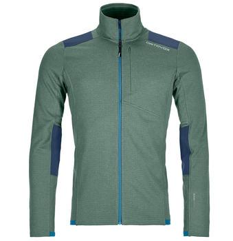 Ortovox Fleece Light Grid Jacket Men green forest
