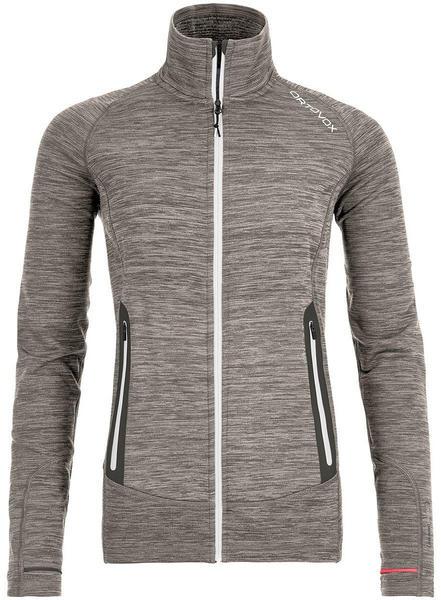 Ortovox Fleece Light Melange Jacket Women (87048) grey blend