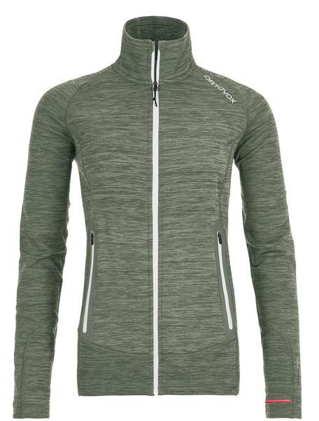 Ortovox Fleece Light Melange Jacket Women (87048) green forest blend