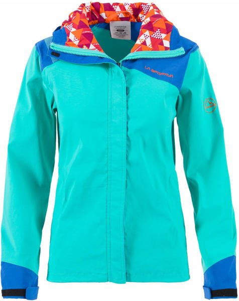 La Sportiva Pitch JKT Women Climbing Apparel aqua/marine blue