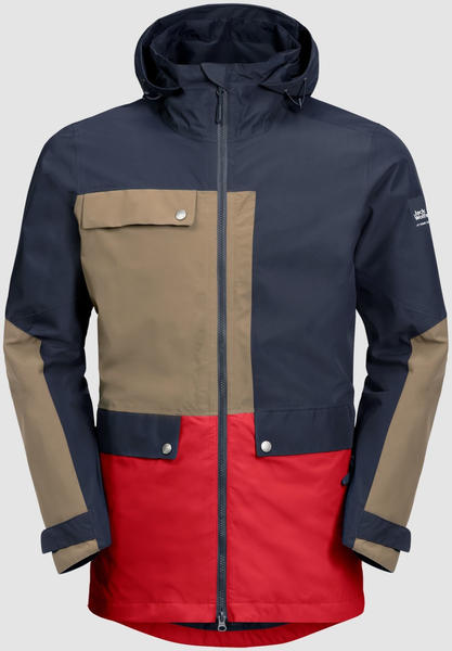Jack Wolfskin 365 Influencer Jacket night blue peak red