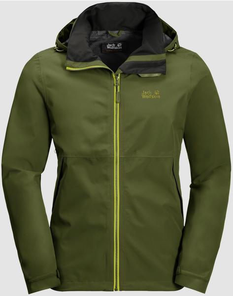 Jack Wolfskin Evandale Jacket M cypress green