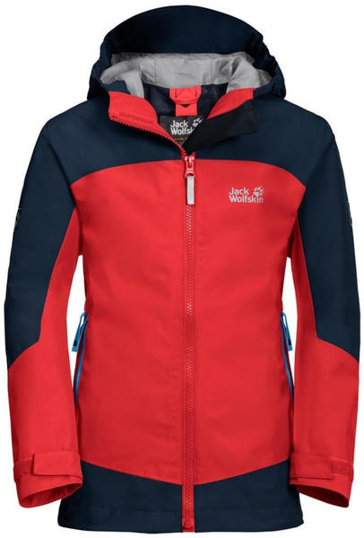 Jack Wolfskin B Akka 3IN1 Jkt peak red