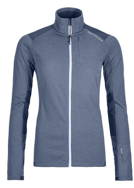 Ortovox Fleece Light Grid Jacket Women night blue