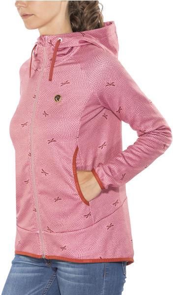 Maloja Women's AmaliaM. Hooded Fleece Jacket cherry blossom