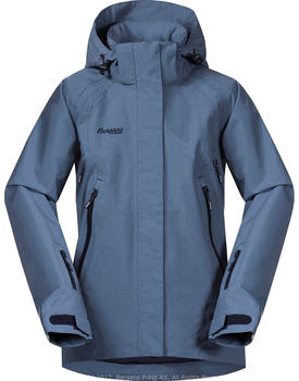 Bergans Ervik Insulated Youth Girl Jacket (7923) fogblue/dk navy